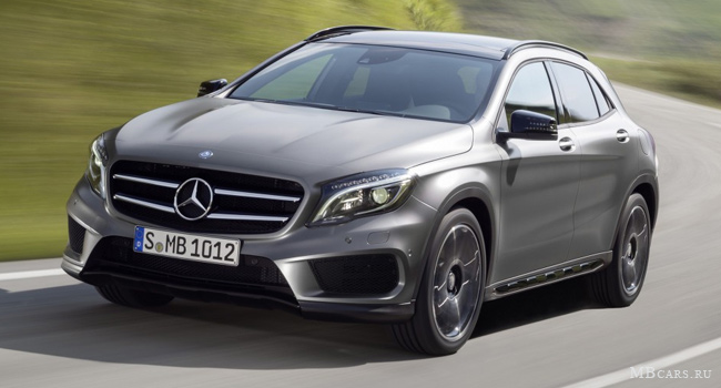 Mercedes-Benz GLA 250 4MATIC со стайлингом AMG Sports Package