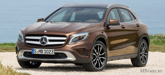Mercedes-Benz GLA-класс X156
